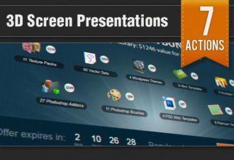 3D-Screen-Presentation-Ps-Addons Addons addon|close-up|Effect|photo|presentation|screen