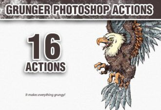 Grunger-Photoshop-Action Addons action|dirt|dirty|grunge|grunger
