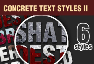 Concrete-Text-Styles-Set-2 Addons addon|concrete|erroded|graphic|style|text