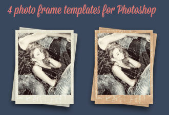 Photo-Frames-PS-Generator Addons clean|frame|old|photo|retro|vintage