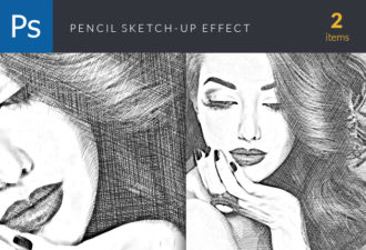 Sketchup-Action-Script-for-Photoshop Addons action|atn|high-resolution|Sketch|psd
