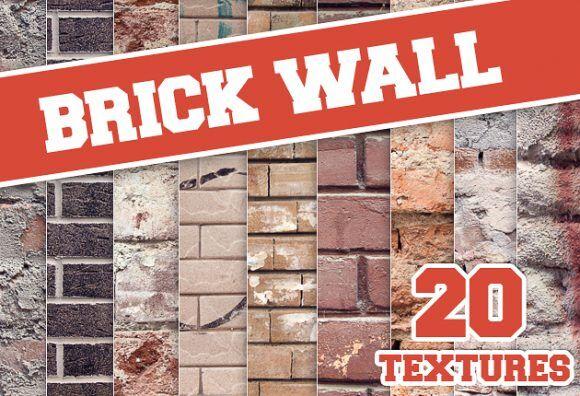 Brick Wall Textures Textures brick|concrete|stone|wall|texture