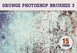 Grunge-Photoshop-Brushes-Set-3 Addons brush|dirt|Editor's-Picks-–-Brushes|grunge|subtle