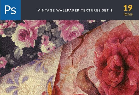 Vintage Wallper Textures Set 1 Textures flowers|high-quality|high-resolution|jpg|metal|roses|textures-2|vintage|wallpaper