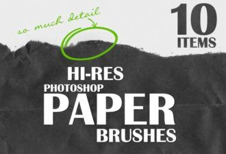 Ripped-Paper-Photoshop-Brushes Addons brush|Editor's-Picks-–-Brushes|grunge|paper|ripped