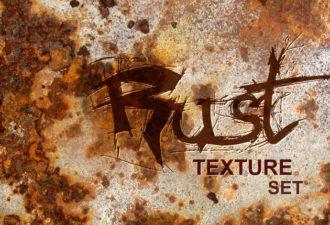 Rust textures set Textures grunge|metal|rust