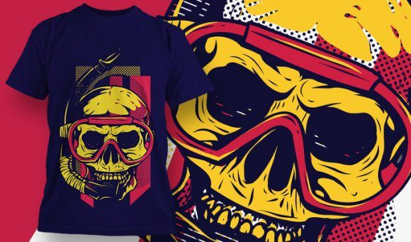 T-shirt Design 1877 T-shirt Designs and Templates vector