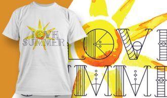 T-shirt design 1917 T-shirt Designs and Templates summer