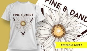 T-shirt design 1944 T-shirt Designs and Templates vector