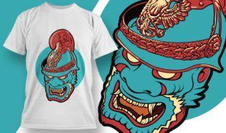 T-shirt design 1947 T-shirt Designs and Templates vector