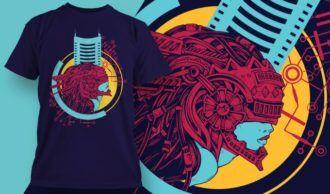 T-shirt design 1954 T-shirt Designs and Templates vector