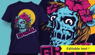 T-shirt design 1963 T-shirt Designs and Templates vector