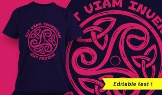 T-shirt design 1974 T-shirt Designs and Templates vector