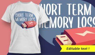 T-shirt design 1996 T-shirt Designs and Templates vector