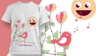 T-shirt design 1997 T-shirt Designs and Templates vector