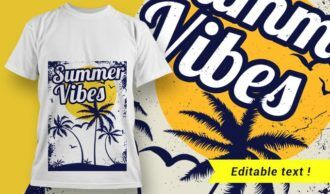 T-shirt design 2005 T-shirt Designs and Templates tropical