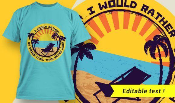 T-shirt design 2007 T-shirt Designs and Templates summer