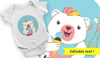 T-shirt design 2027 T-shirt Designs and Templates ice cream