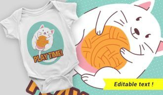 T-shirt design 2061 T-shirt Designs and Templates vector