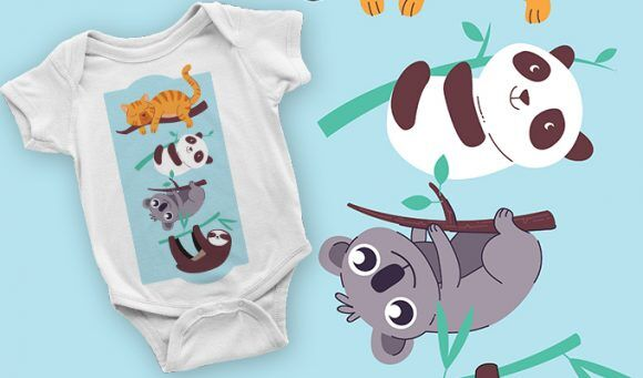 T-shirt design 2101 T-shirt Designs and Templates vector