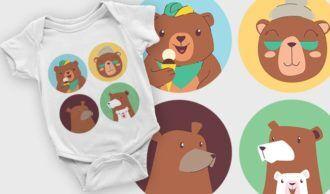 T-shirt design 2102 T-shirt Designs and Templates vector