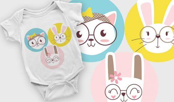 T-shirt design 2104 T-shirt Designs and Templates vector