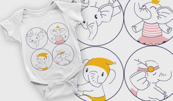 T-shirt design 2105 T-shirt Designs and Templates vector