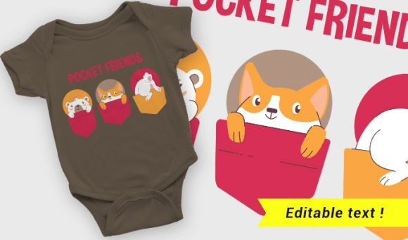 T-shirt design 2109 T-shirt Designs and Templates vector