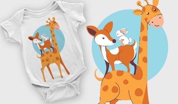 T-shirt design 2110 T-shirt Designs and Templates vector
