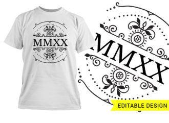 MMXX 2020 Editable Design Template