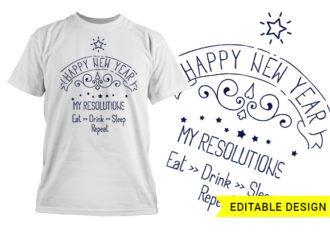 Happy new year 2020 MMXX Resolution
