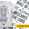 He restores my soul Design Template T-shirt Designs and Templates religion
