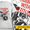Jazz It Up T-shirt Designs and Templates music