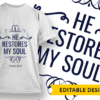 And I will be to her a wall of fire… Design Template T-shirt Designs and Templates religion