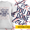 Many are the plans in a person's heart, but it is the Lord's purpose that prevails. Proverbs 19:21 Design Template T-shirt Designs and Templates religion