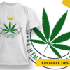 High Standards T-shirt Designs and Templates leaf