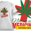 Ethiopian Flag Colors and Leaf Design Template T-shirt Designs and Templates leaf
