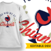 May Contain Wine T-shirt Designs and Templates glass
