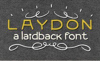 Laydon Font Fonts Font, Otf, ttf
