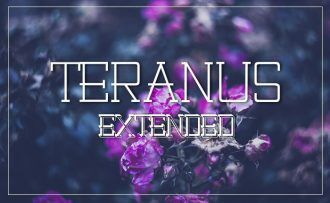 Teranus Extended Font Fonts Font, Otf, ttf