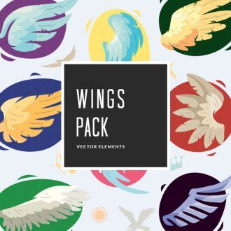 Wings Vector Pack Vector packs vector