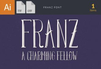 Franz Font Fonts Font, Otf, ttf