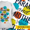 Free mom hugs T-shirt Designs and Templates mother
