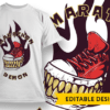 Classy, sassy and a lil' bit smart-assy T-shirt Designs and Templates damask