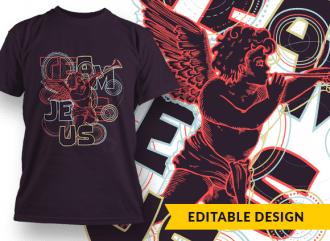 Team Jesus T-shirt Designs and Templates jesus