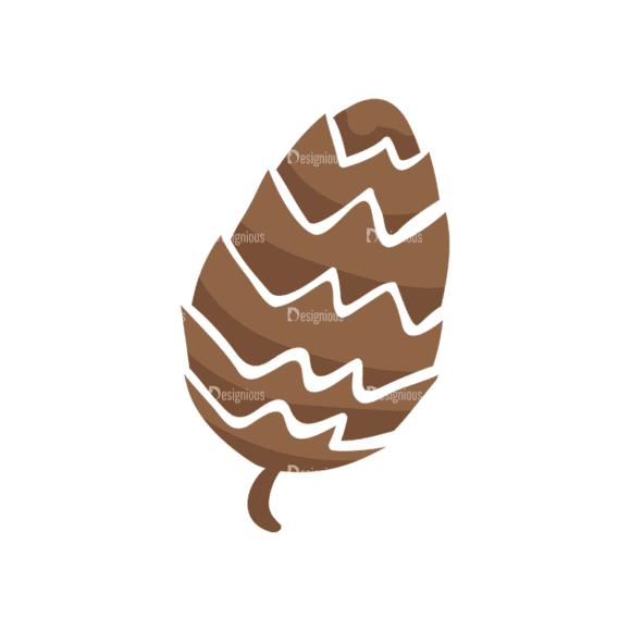 Decorative Birds Pinecone Clip Art - SVG & PNG vector