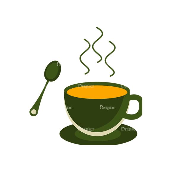 Breakfast Icons Vector Set 1 Vector Coffee Clip Art - SVG & PNG vector