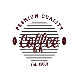 Coffee Vector Text 02 Clip Art - SVG & PNG vector