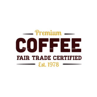 Coffee Vector Text 03 Clip Art - SVG & PNG vector