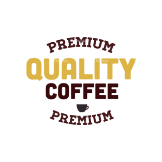 Coffee Vector Text 04 Clip Art - SVG & PNG vector